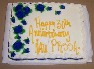 NAU PRSSA Birthday Cake